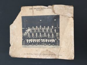 Old photo of football team